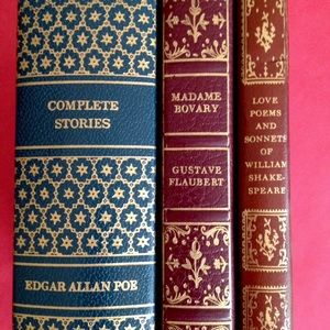 Vintage Collectors Library Classic Book Set of 3